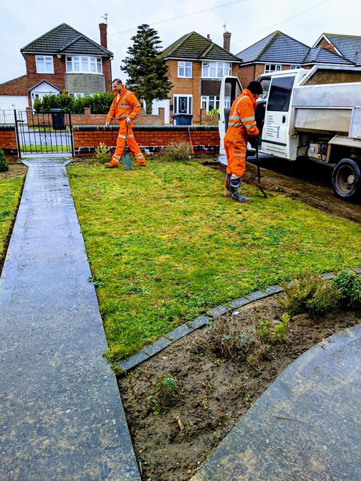 Landscaping, Resin Driveways and Paving In Newark.